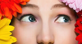 Floral Contact Lenses