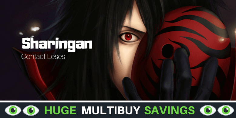 Sharingan Contact Lenses