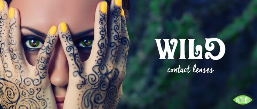 Wild Contact Lenses